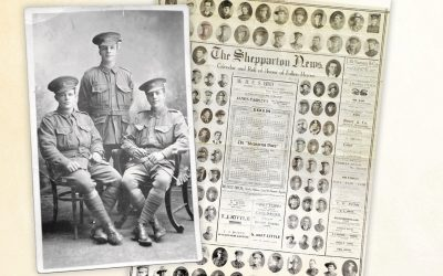 100 years of local war history