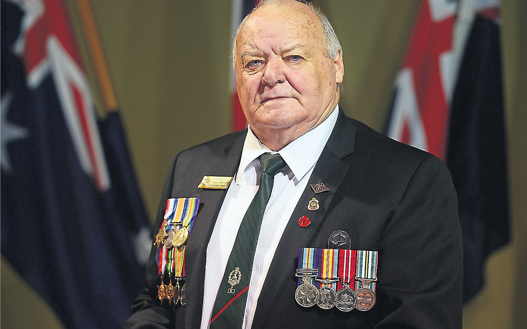 Making history on Anzac Day